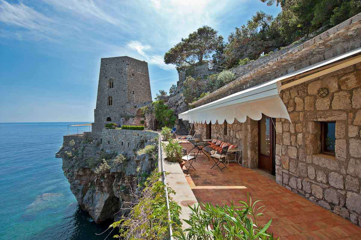 Luxury vacation rentals europe - Italy - Am alfico ast - Am alfi - Torre di Positano - Image 1/24