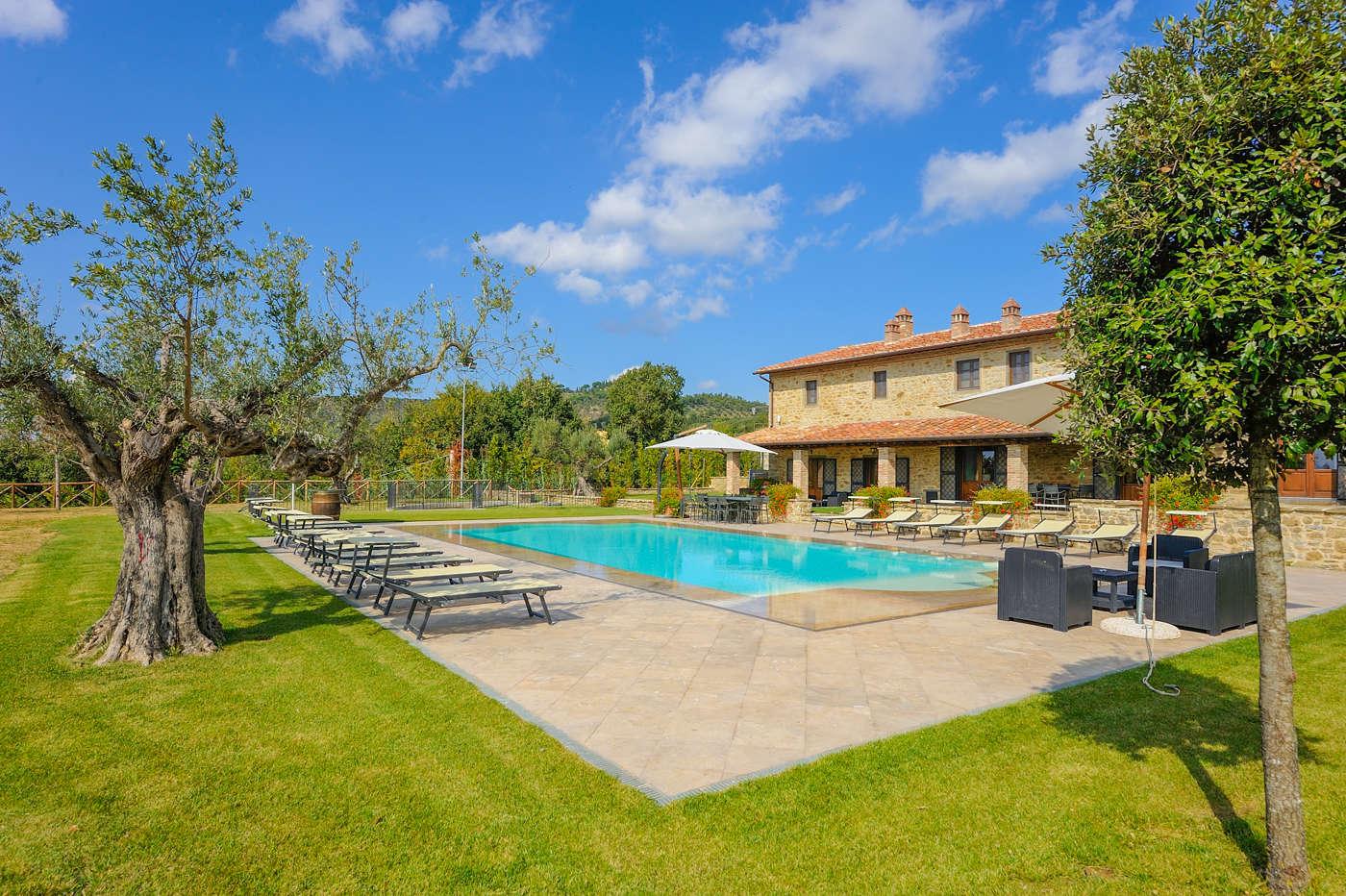Luxury vacation rentals europe - Italy - Tuscany - Val dorcia - Cortona - Image 1/14