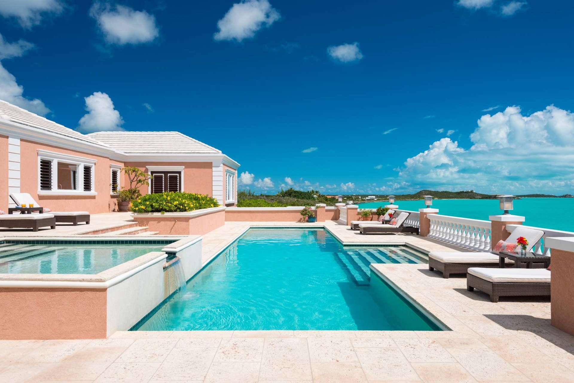 Luxury villa rentals caribbean - Turks and caicos - Providenciales - Turtle tail - Villa Palermo - Image 1/18
