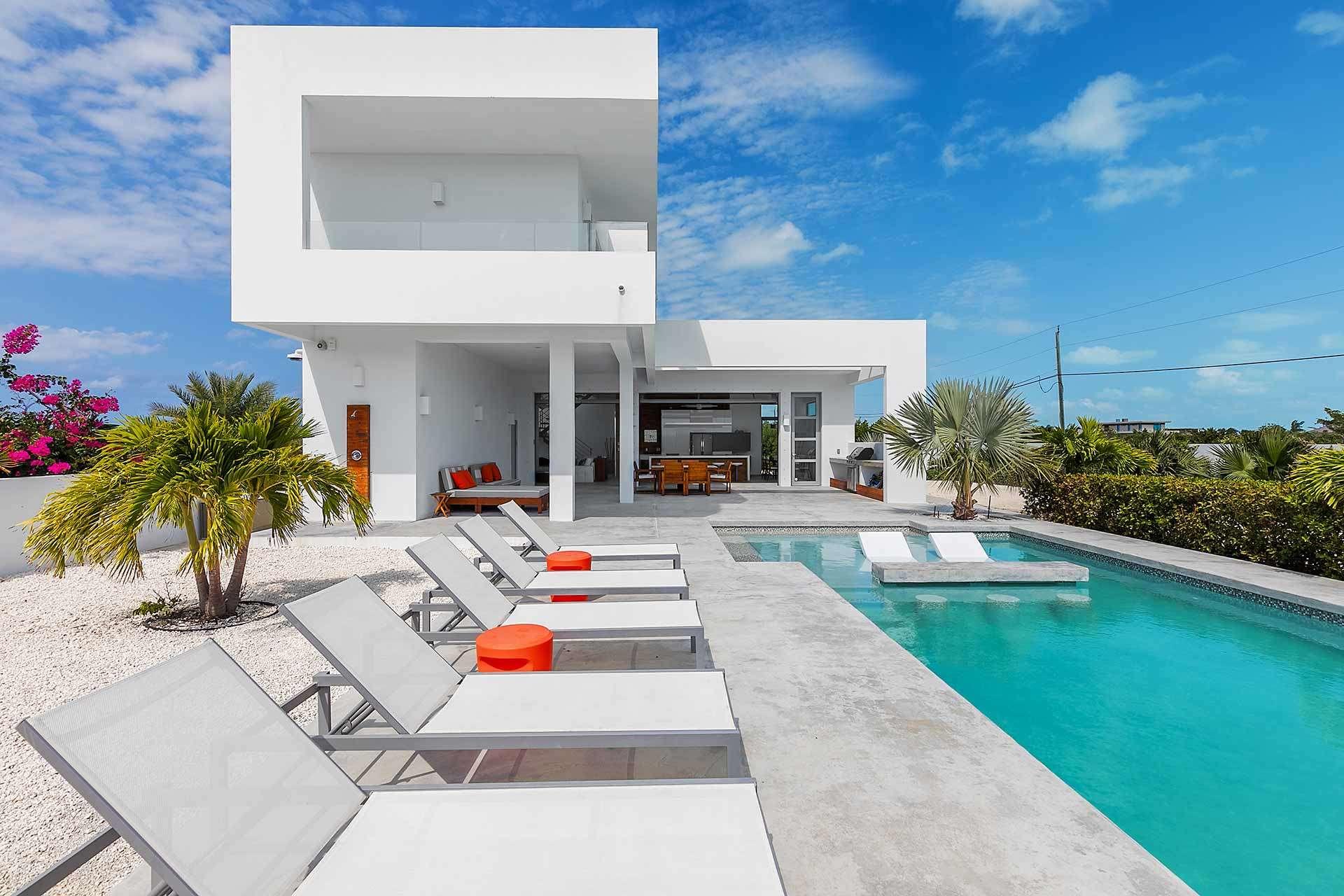 Luxury villa rentals caribbean - Turks and caicos - Providenciales - Long bay - White Villas 1 - Image 1/7