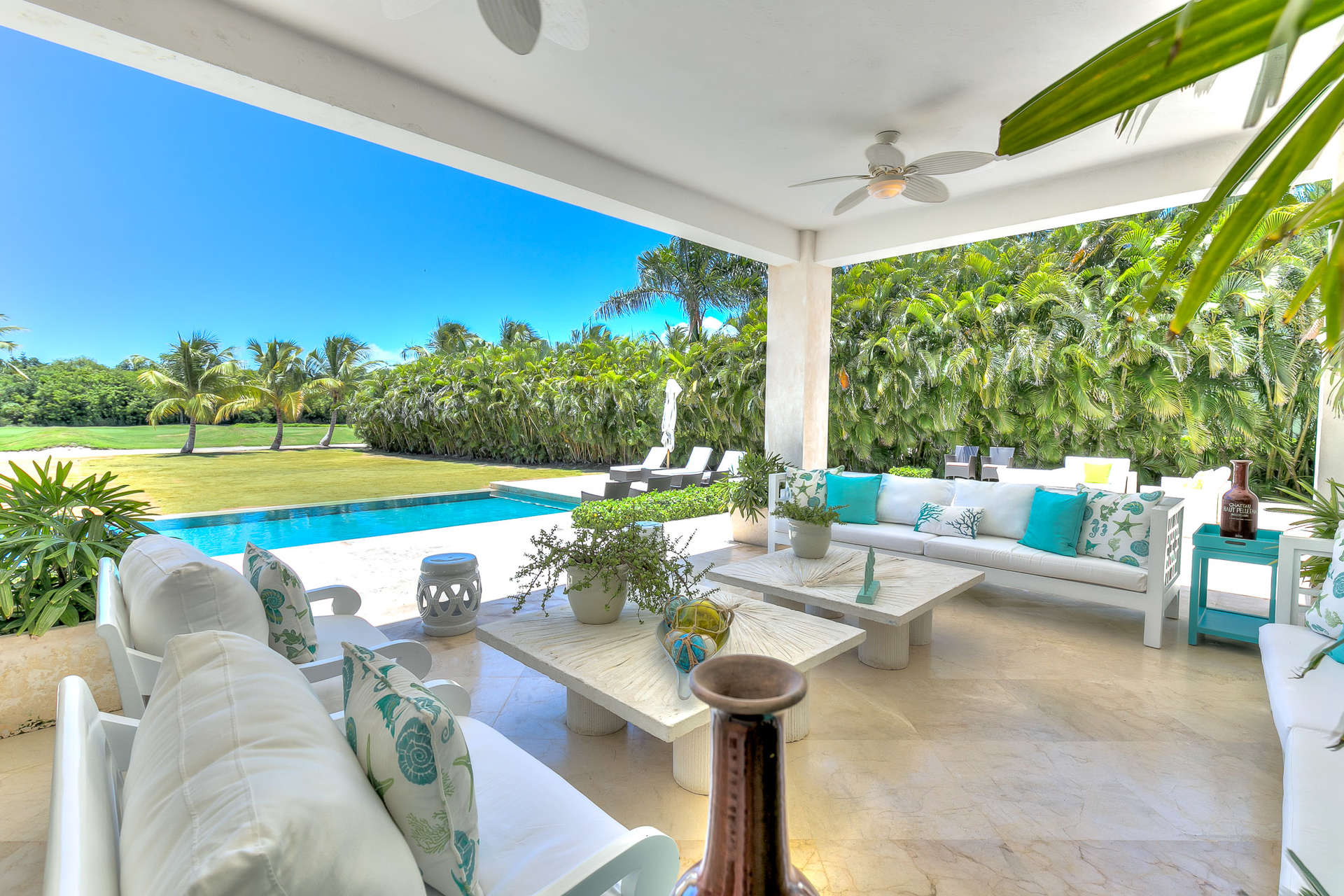 Luxury villa rentals caribbean - Dominican republic - Punta cana - Punta cana resort and club - Tortuga C19 - Image 1/24