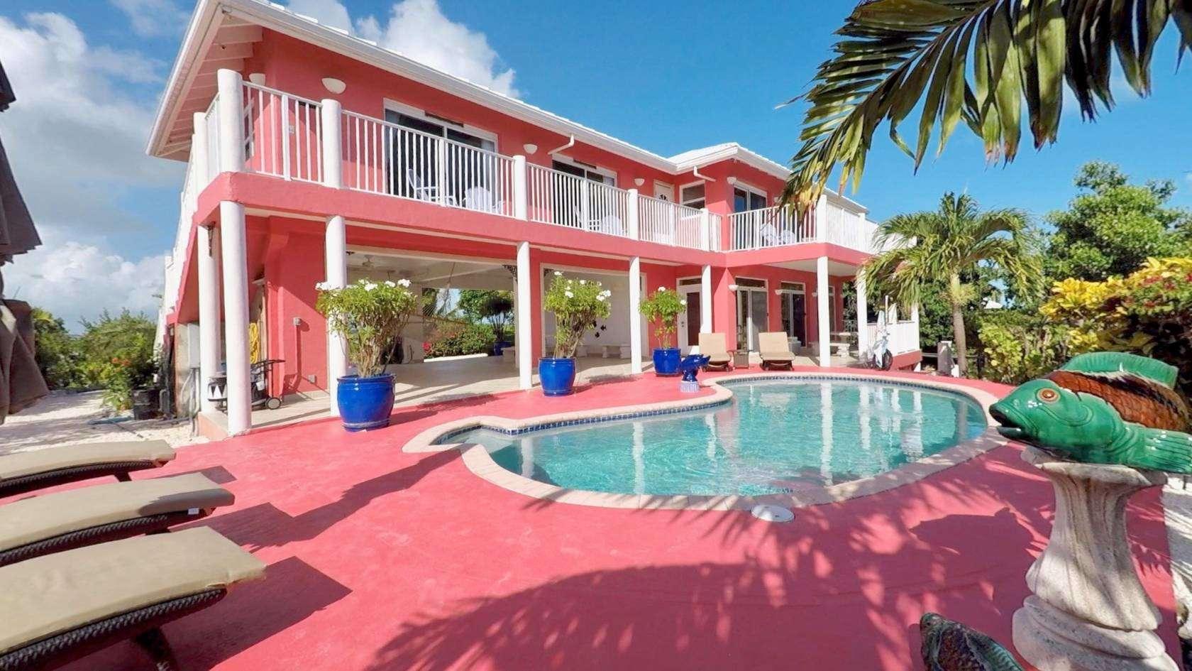 Luxury villa rentals caribbean - Turks and caicos - Providenciales - Turtle tail - Villa Tropidero - Image 1/10