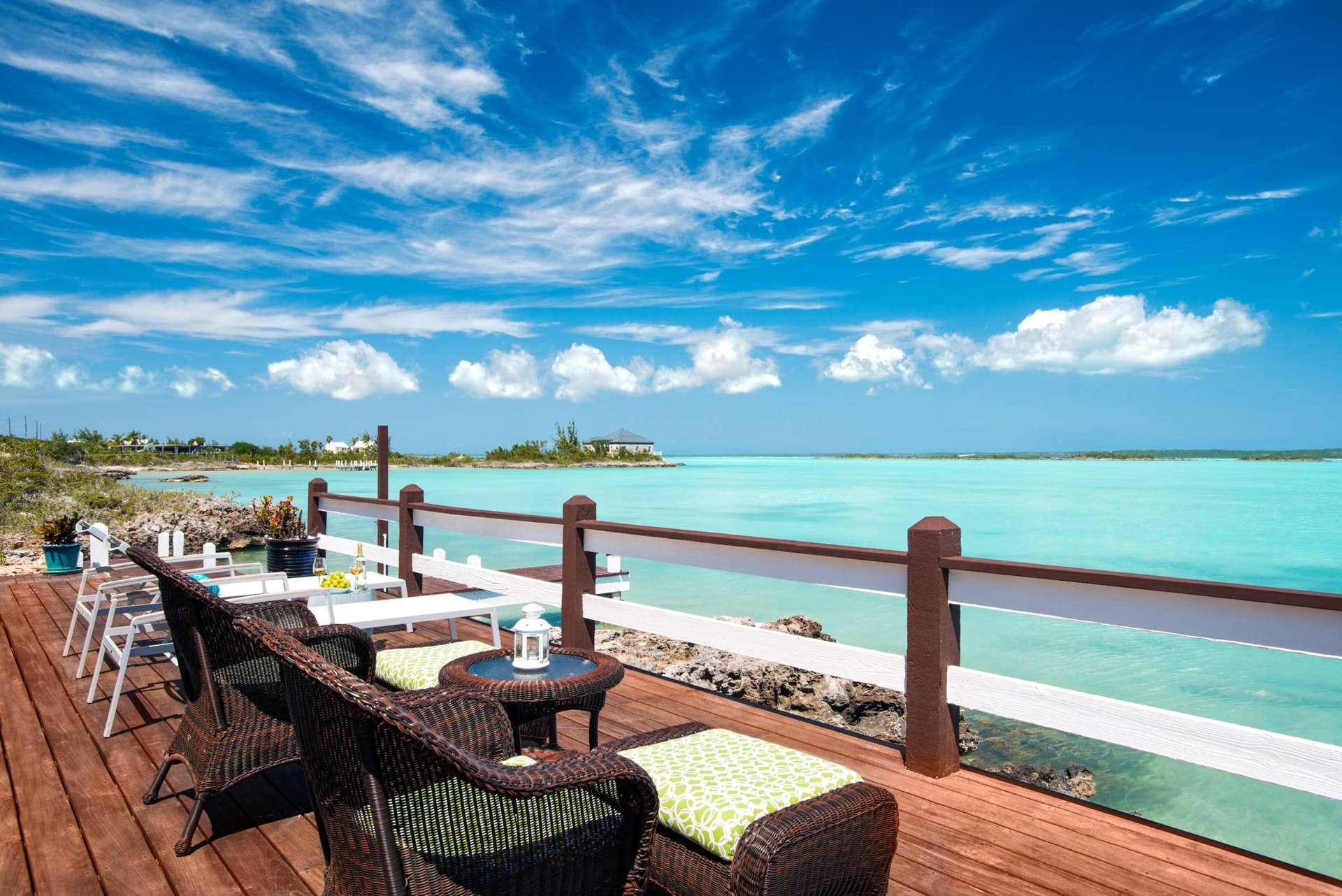 Luxury villa rentals caribbean - Turks and caicos - Providenciales - Chalk sound - Bashert - Image 1/18