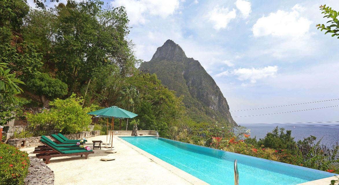Luxury villa rentals caribbean - St lucia - Soufriere - Colibri Cottage - Image 1/11