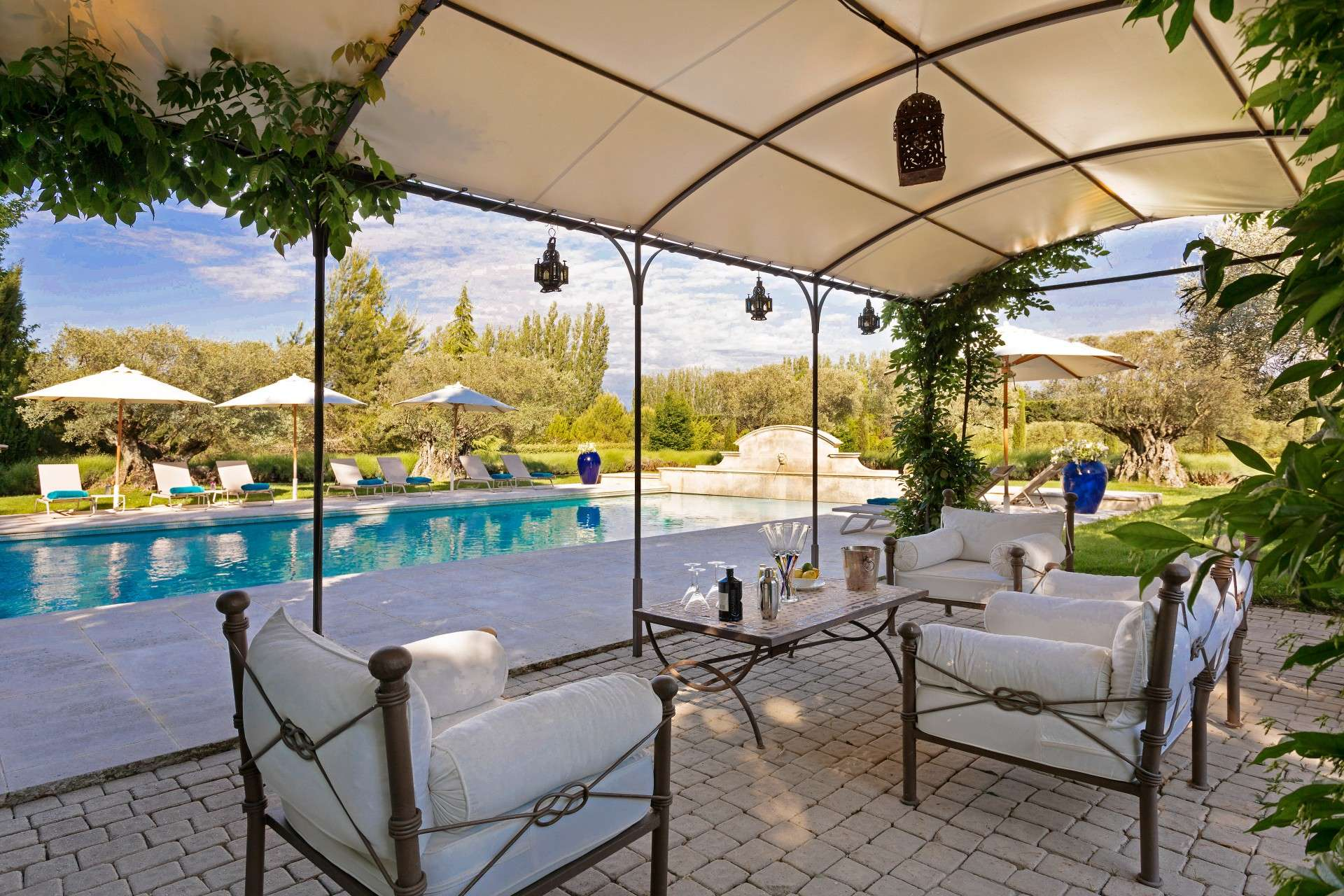 Luxury vacation rentals europe - France - Provence ih - St remy - Fleurs de Provence - Image 1/22