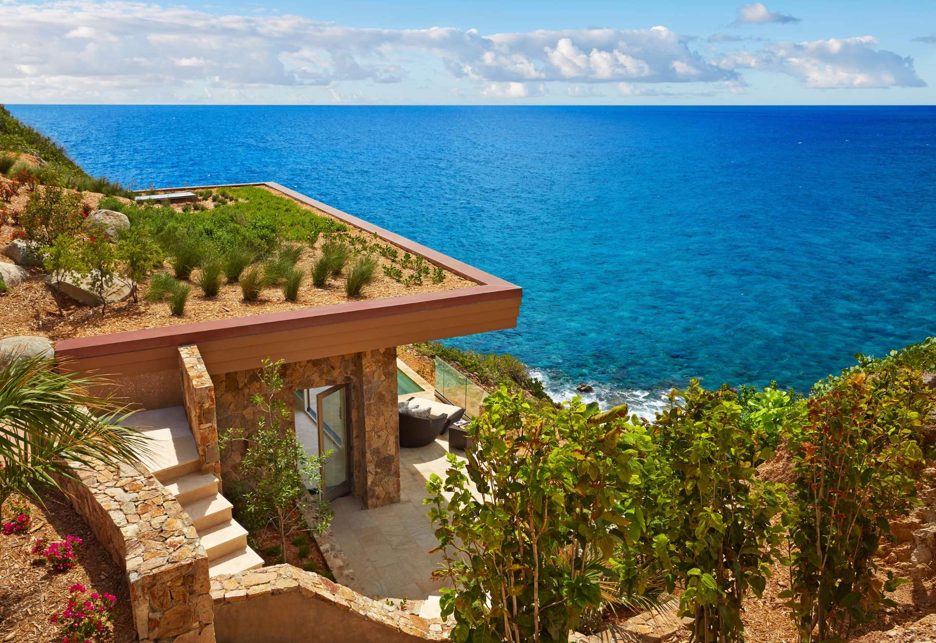 Luxury villa rentals caribbean - British virgin islands - Virgin gorda - Oil nutbay - The Cliff Suites - Image 1/8