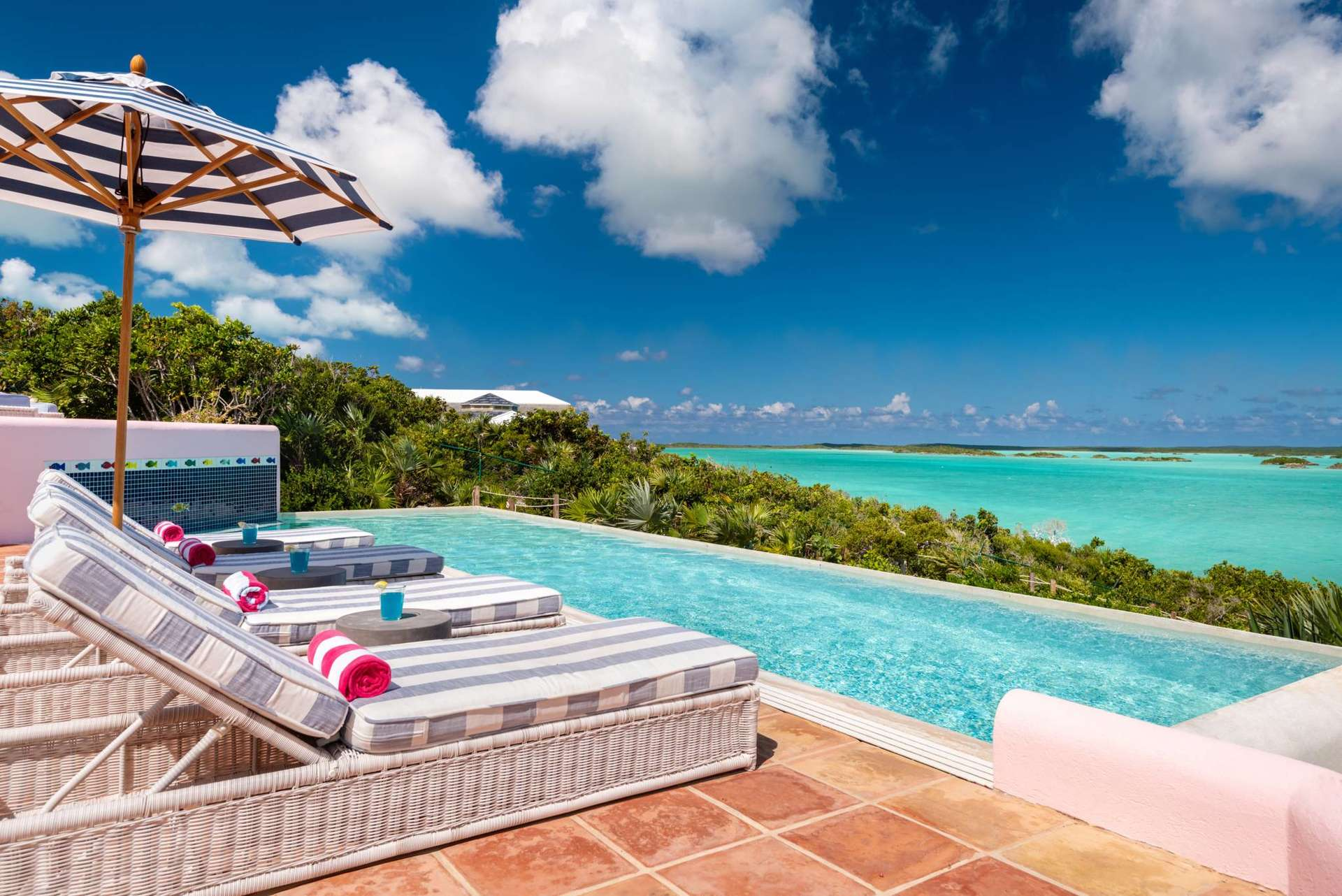 Luxury villa rentals caribbean - Turks and caicos - Providenciales - Chalk sound - Aqua Pulchra - Image 1/29