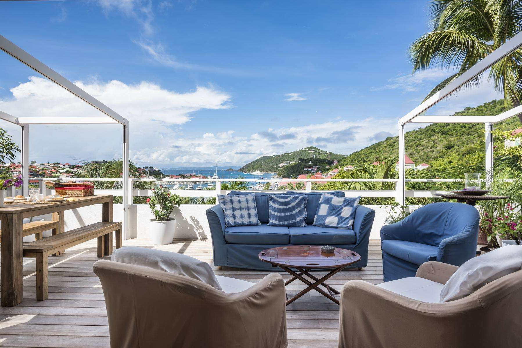 Luxury villa rentals caribbean - St barthelemy - Gustavia - Colony Club D4  | View Star - Image 1/17