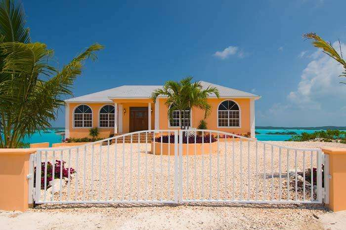 Luxury villa rentals caribbean - Turks and caicos - Providenciales - Chalk sound - Breezy Palms Villa - Image 1/14