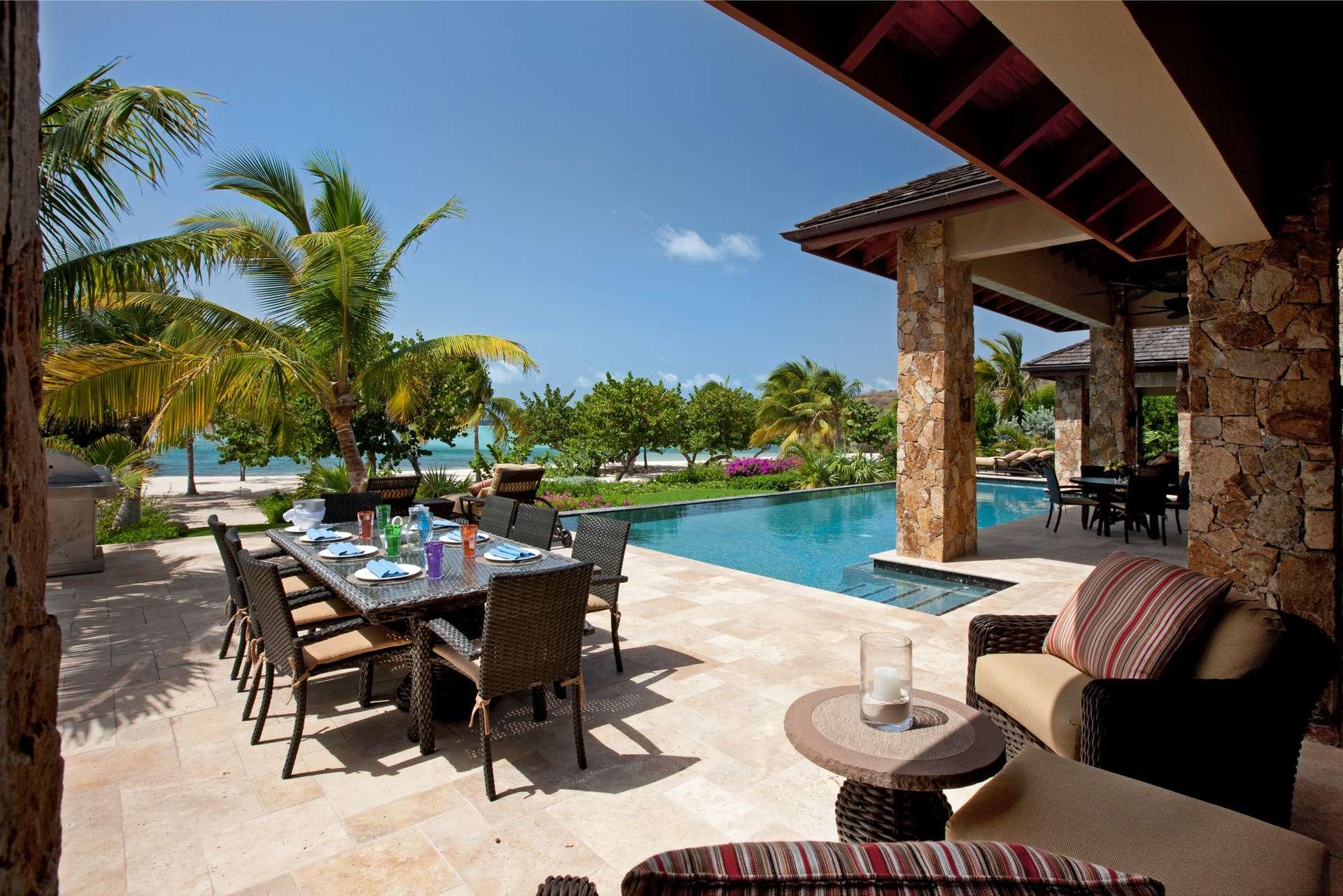Luxury villa rentals caribbean - British virgin islands - Virgin gorda - Bella Beach Villa | Oil Nut Bay - Image 1/11