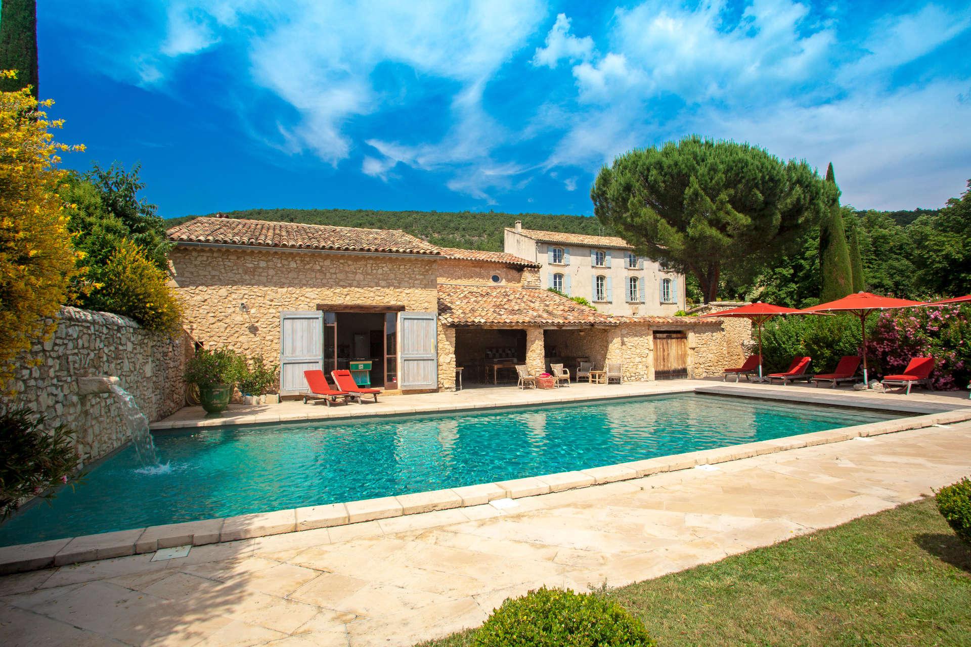 Luxury vacation rentals europe - France - Provence ih - Provence luberon - Simiane - Image 1/45