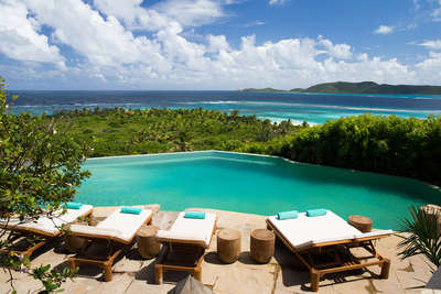 Great House Master Suite, Necker Island