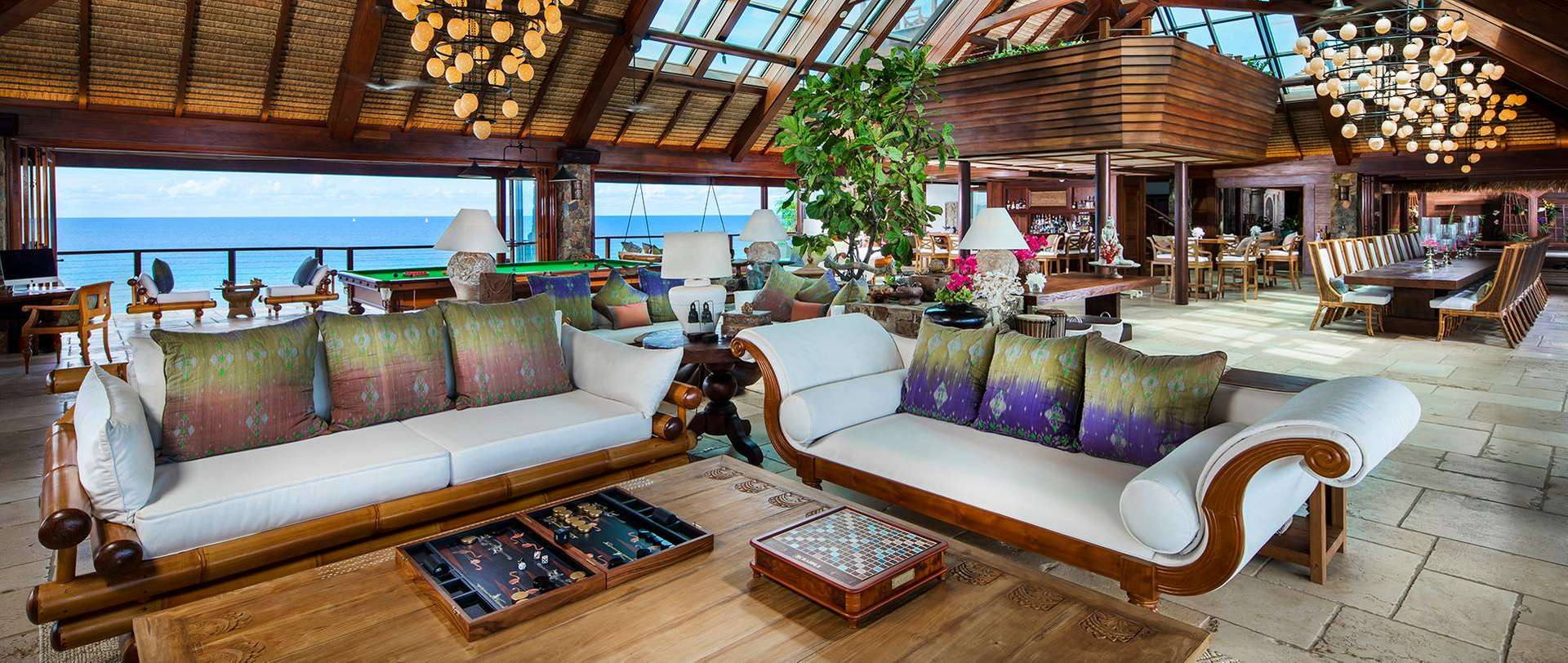 Luxury villa rentals caribbean - British virgin islands - Necker island - Great House | Guest House Suites | Necker Island - Image 1/11