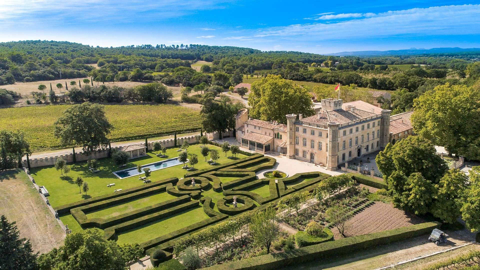 Luxury vacation rentals europe - France - Provence ih - Aix en provence  - Chateau de Candolle - Image 1/23