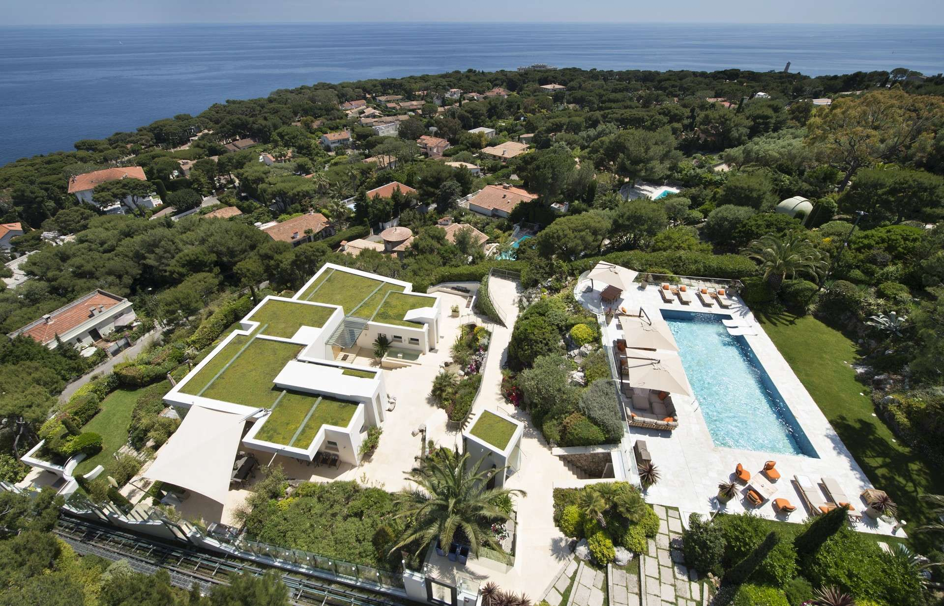 Luxury vacation rentals europe - France - Frenchriviera - Saint jean cap ferrat - Glass House - Image 1/19