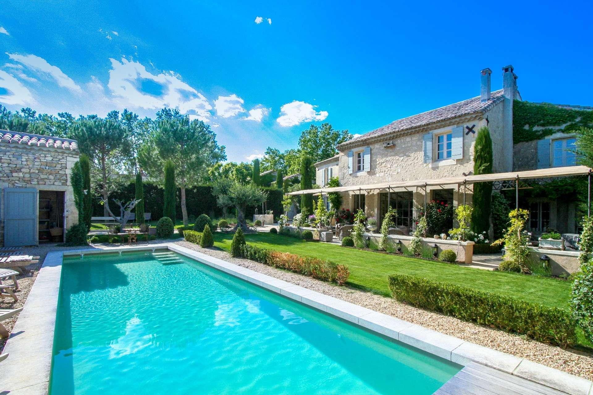Luxury vacation rentals europe - France - Provence ih - Saint remy de provence - Le Clos du Cypres - Image 1/16