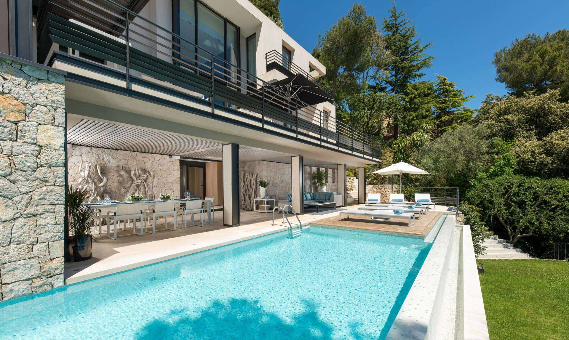 Luxury vacation rentals europe - France - Frenchriviera - Saint jean cap ferrat - Villa The View - Image 1/26