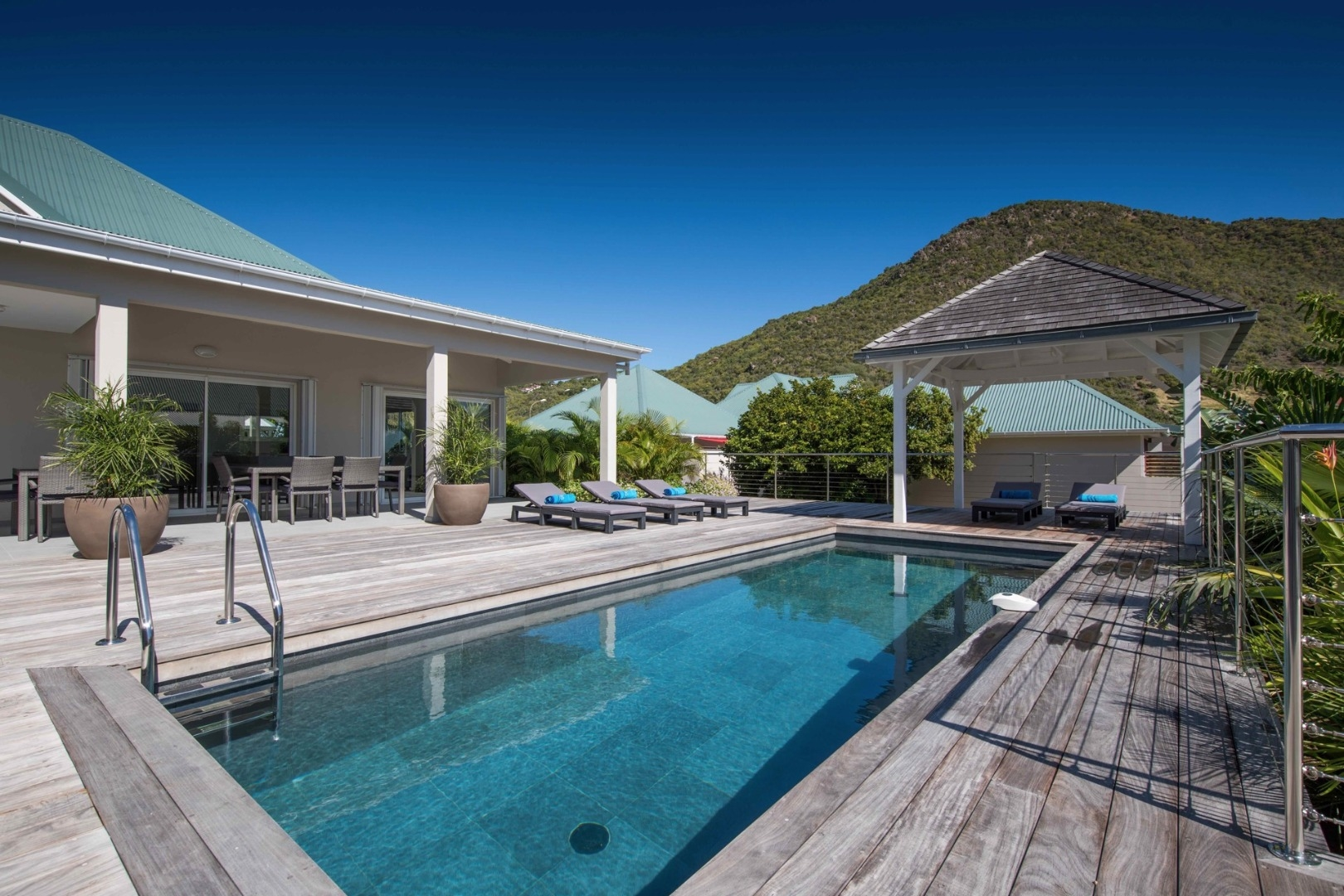 Luxury villa rentals caribbean - St barthelemy - Grand fond - No location 4 - Wild Blue - Image 1/25
