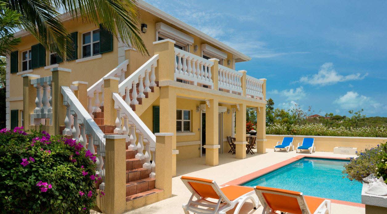 Luxury villa rentals caribbean - Turks and caicos - Providenciales - Chalk sound - Emerald Shores Estate - Image 1/18