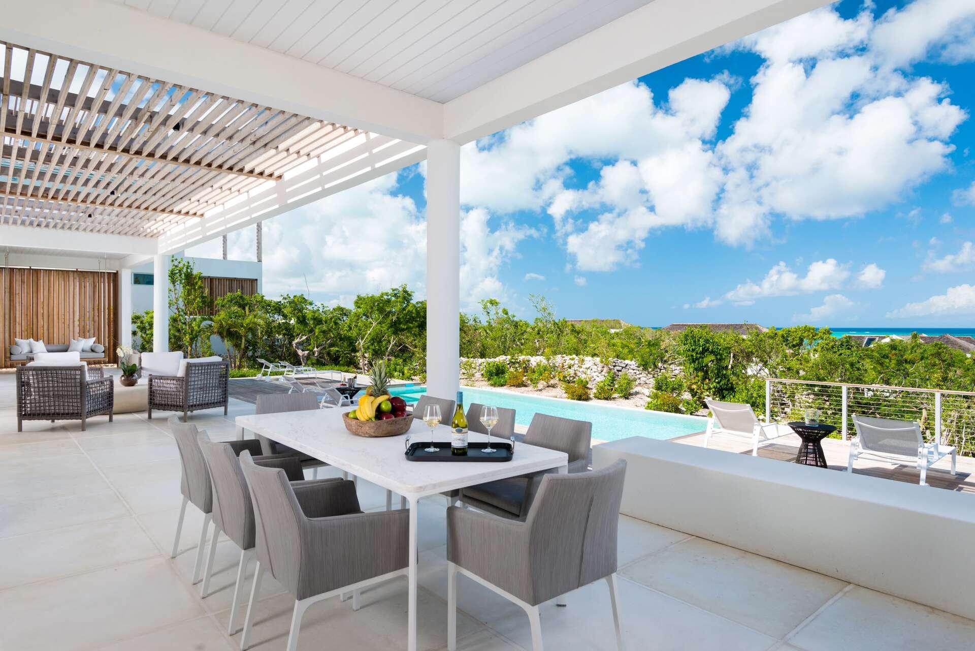 Luxury villa rentals caribbean - Turks and caicos - Providenciales - Beach enclave north shore - Ocean View Villa | 5 Bedroom - Image 1/20