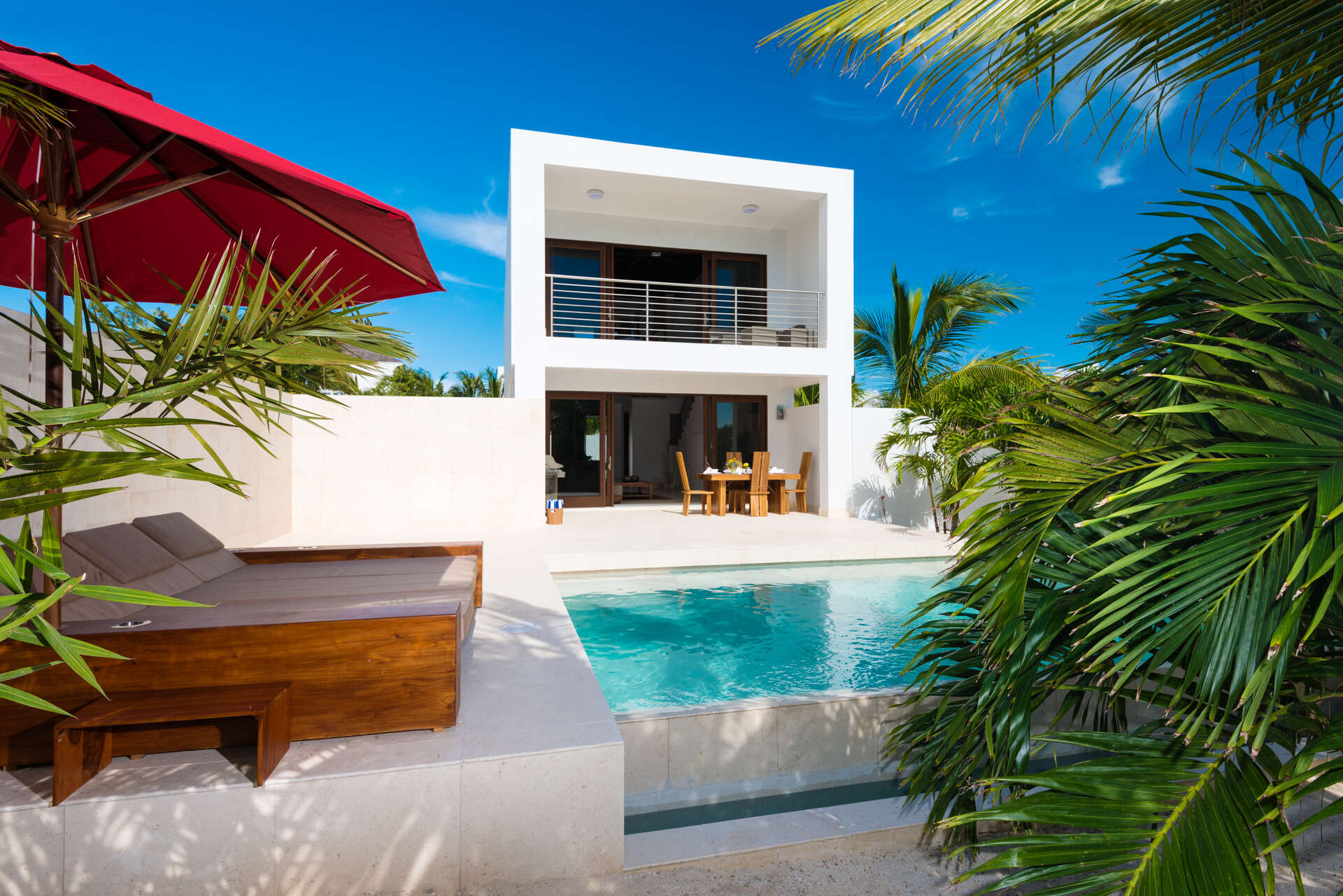 Luxury villa rentals caribbean - Turks and caicos - Providenciales - Turtle cove - Sugar Kube - Image 1/13