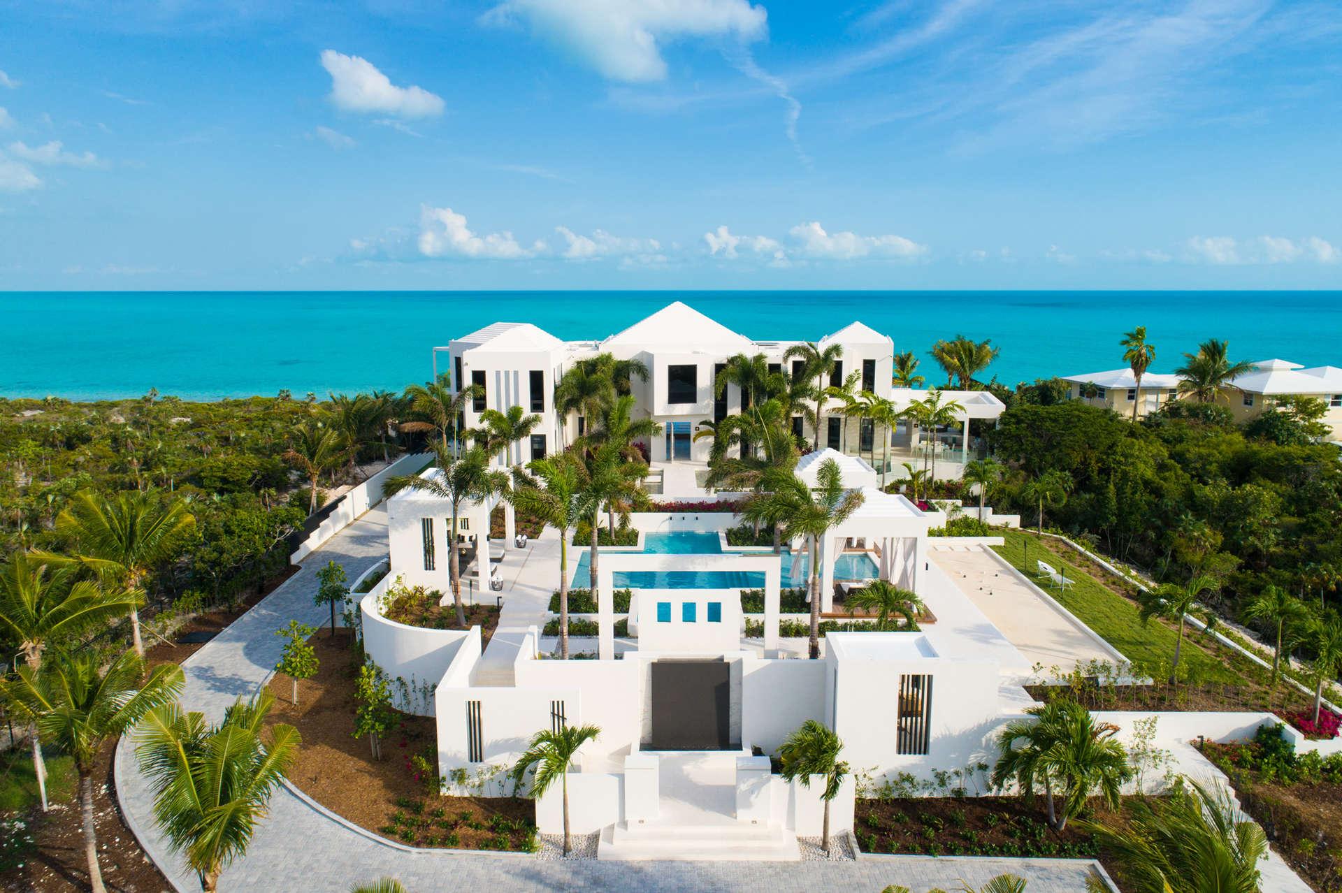 Luxury villa rentals caribbean - Turks and caicos - Providenciales - Long bay - Triton - Image 1/24