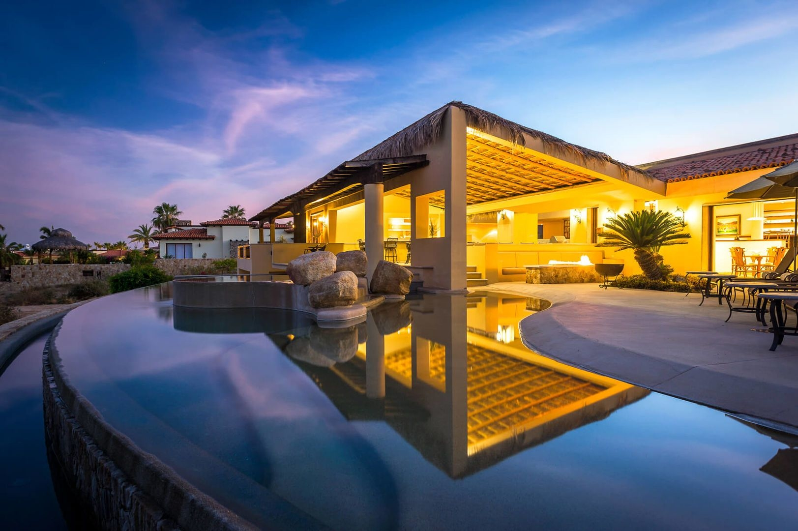 Luxury vacation rentals mexico - Los cabos - Los cabos corridor - Punta ballena - Casa Tita - Image 1/24