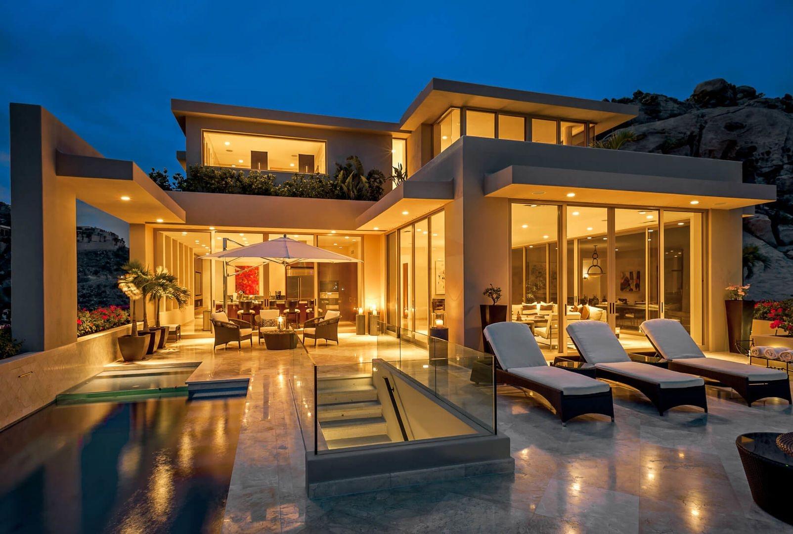 Luxury vacation rentals mexico - Los cabos - Cabo - Pedregal - Villa Pacific West - Image 1/22