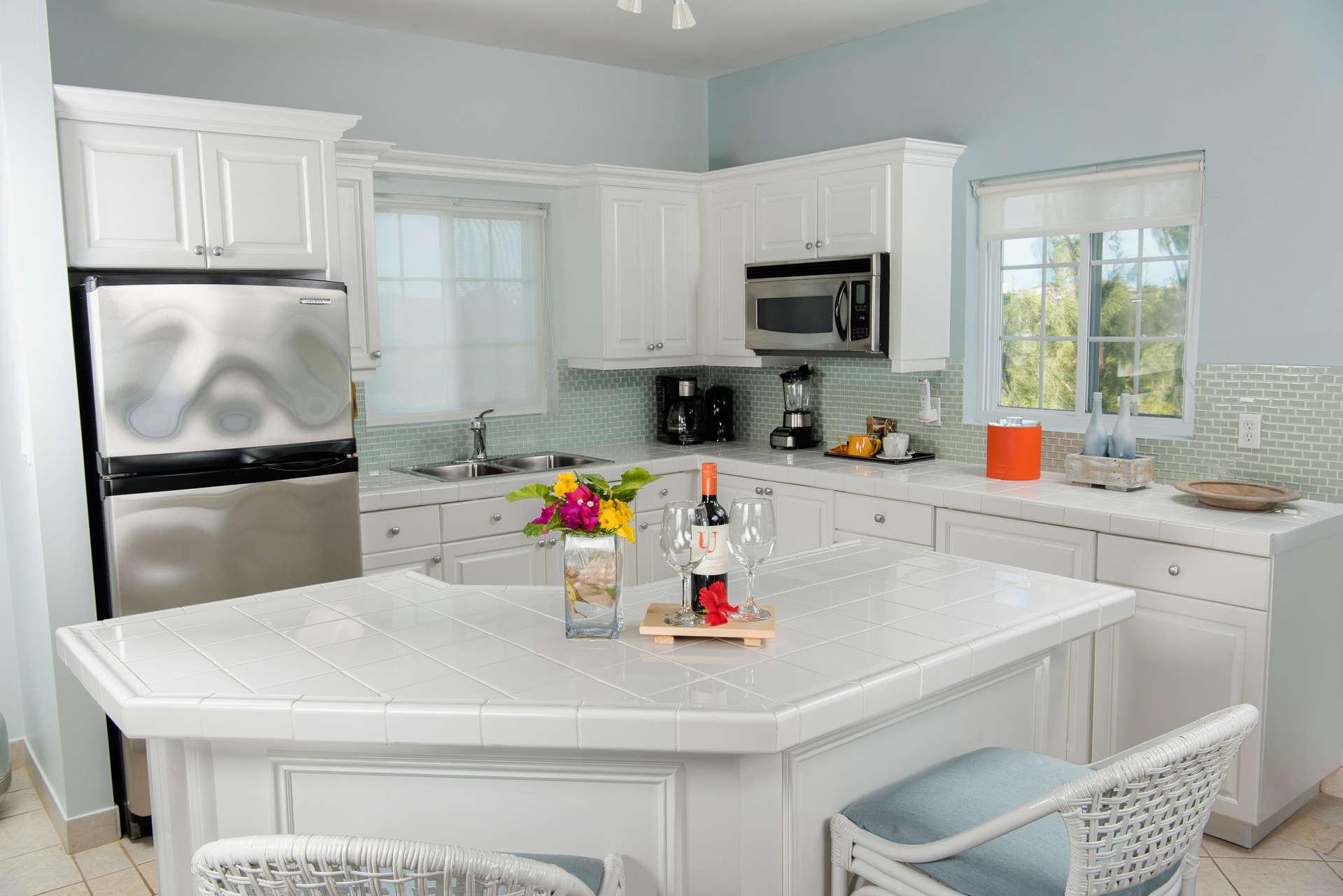 Luxury villa rentals caribbean - Turks and caicos - Providenciales - Beach house turks caicos - Pool View Suite | 2 Bedroom - Image 1/10