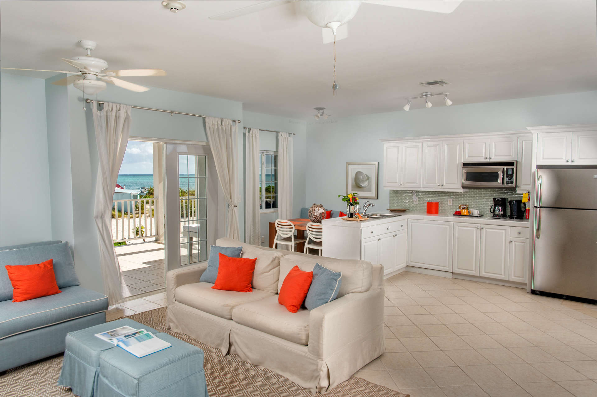 Luxury villa rentals caribbean - Turks and caicos - Providenciales - Beach house turks caicos - Oceanfront Suite 1 BDM - Image 1/7