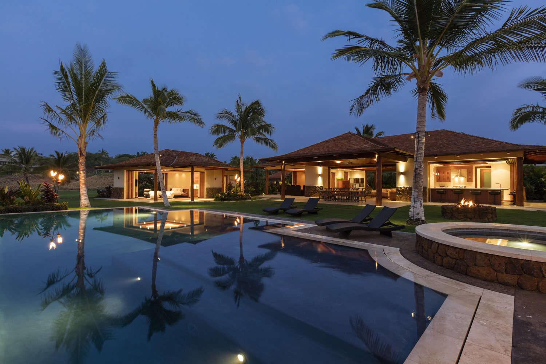 Luxury vacation rentals usa - Hawaii - Big island - Mauna kearesort - Kauna'oa 25 - Image 1/12