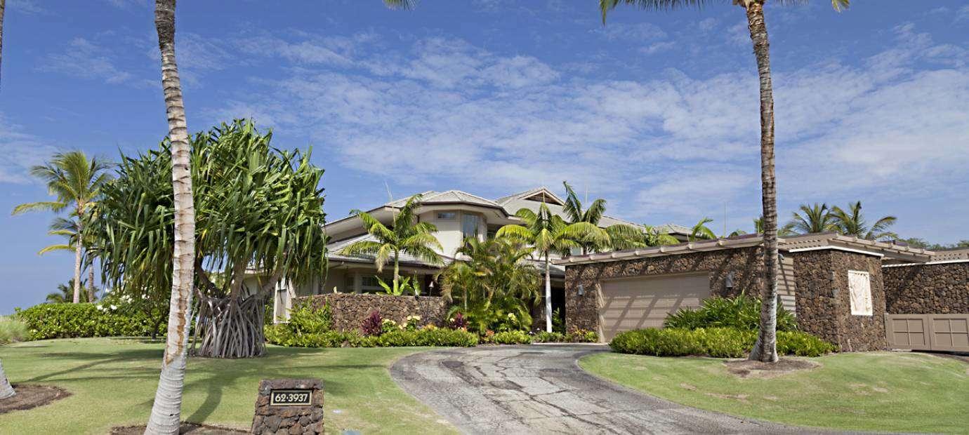 Luxury vacation rentals usa - Hawaii - Big island - Mauna kearesort - Kauna'oa 8B - Image 1/10