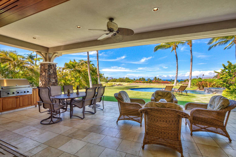 Luxury vacation rentals usa - Hawaii - Big island - Mauna kearesort - Kauna'oa 9A - Image 1/15