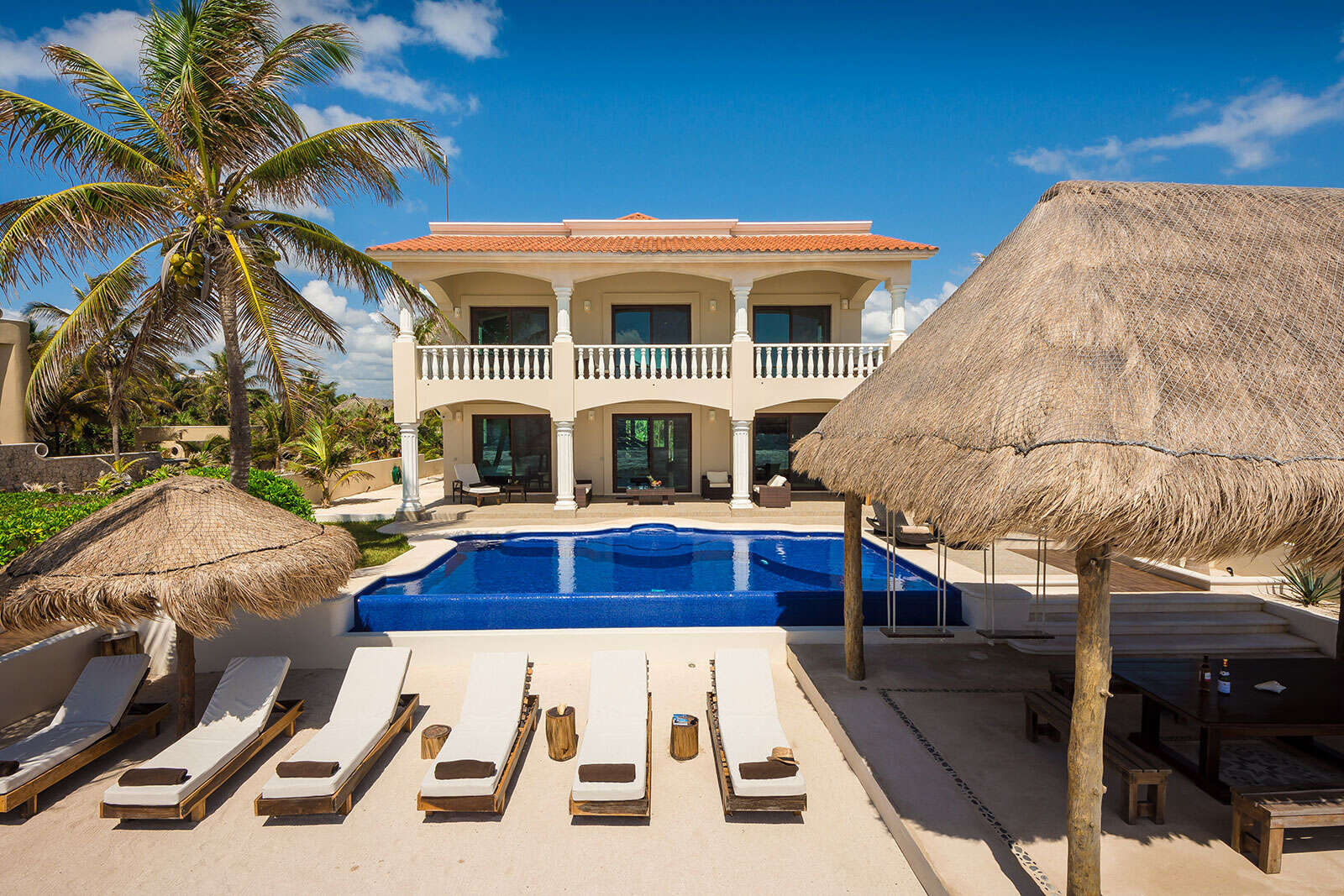 Luxury vacation rentals mexico - Riviera maya - Tulum - Tankah bay area - Villa Sofia - Image 1/21