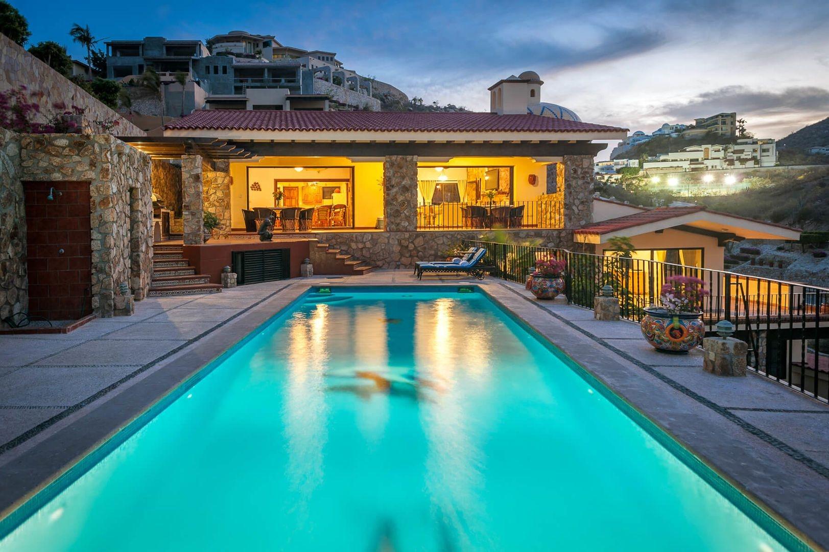Luxury vacation rentals mexico - Los cabos - Cabo - Pedregal - Villa Golden Dome - Image 1/25