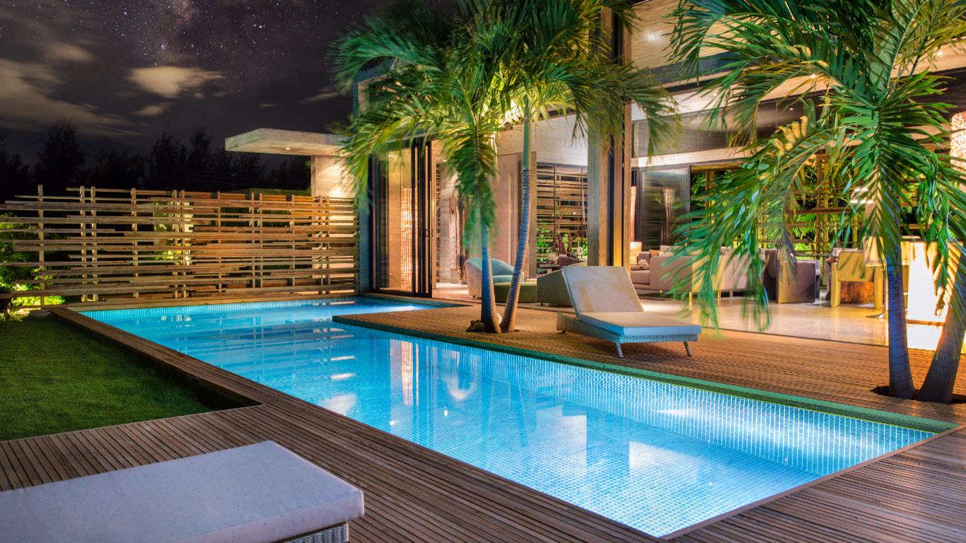 Luxury villa rentals caribbean - Turks and caicos - Providenciales - Grace bay - Villa Islander - Image 1/15