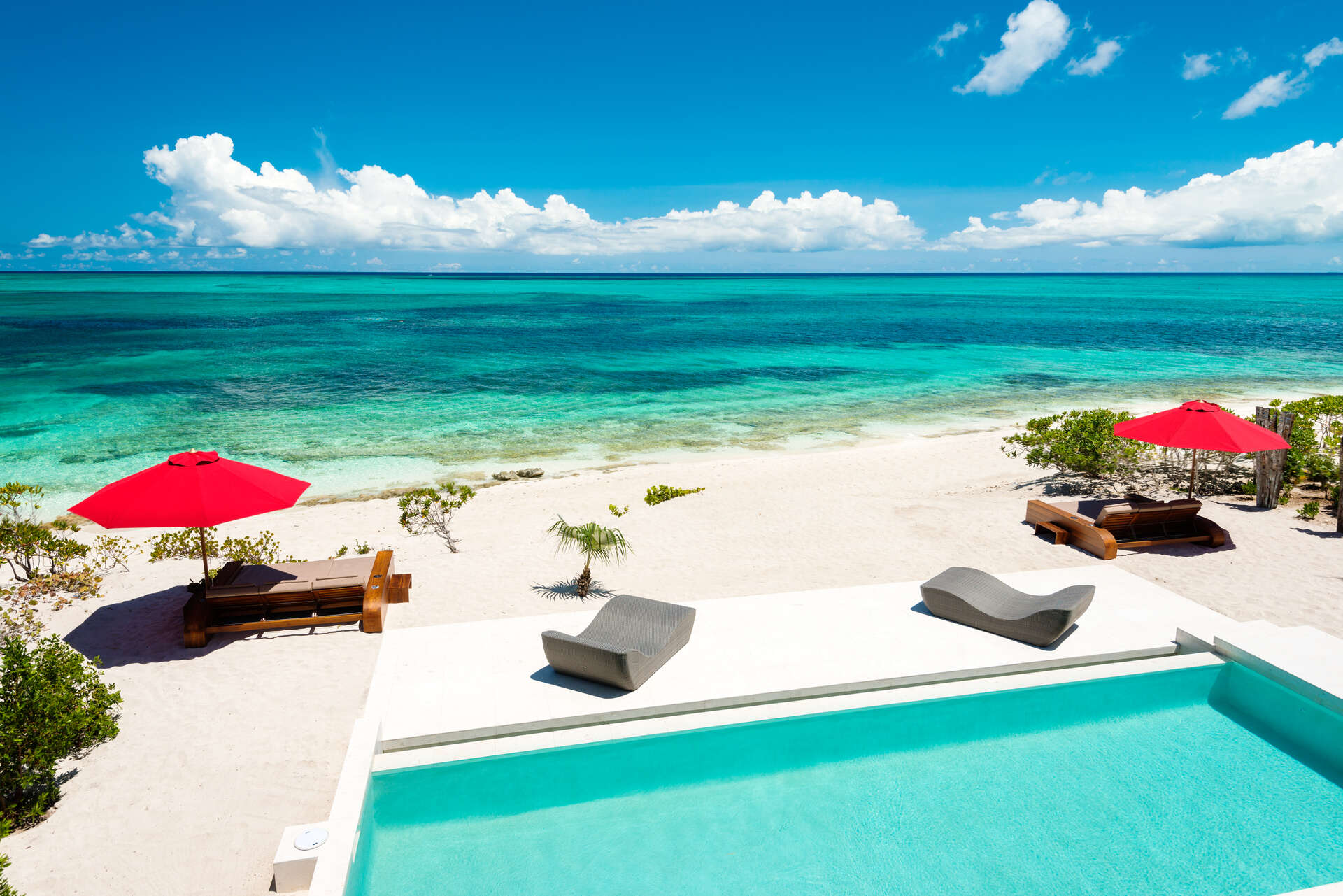 Luxury villa rentals caribbean - Turks and caicos - Providenciales - Grace bay - Beach Kandi - Image 1/14