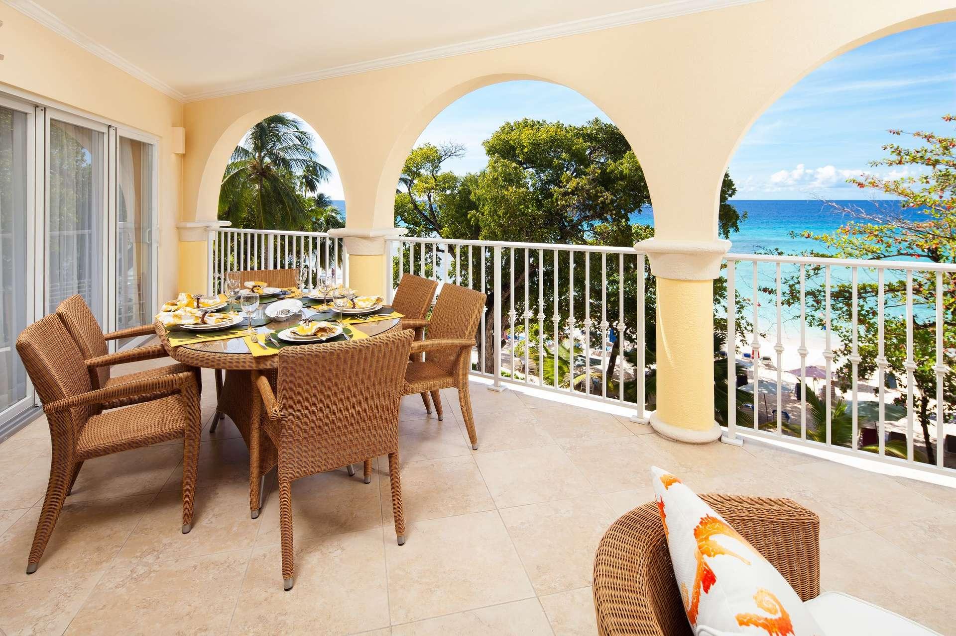 Luxury villa rentals caribbean - Barbados - Christ church - Sapphire beach condos - Sapphire Beach 309 - Image 1/11