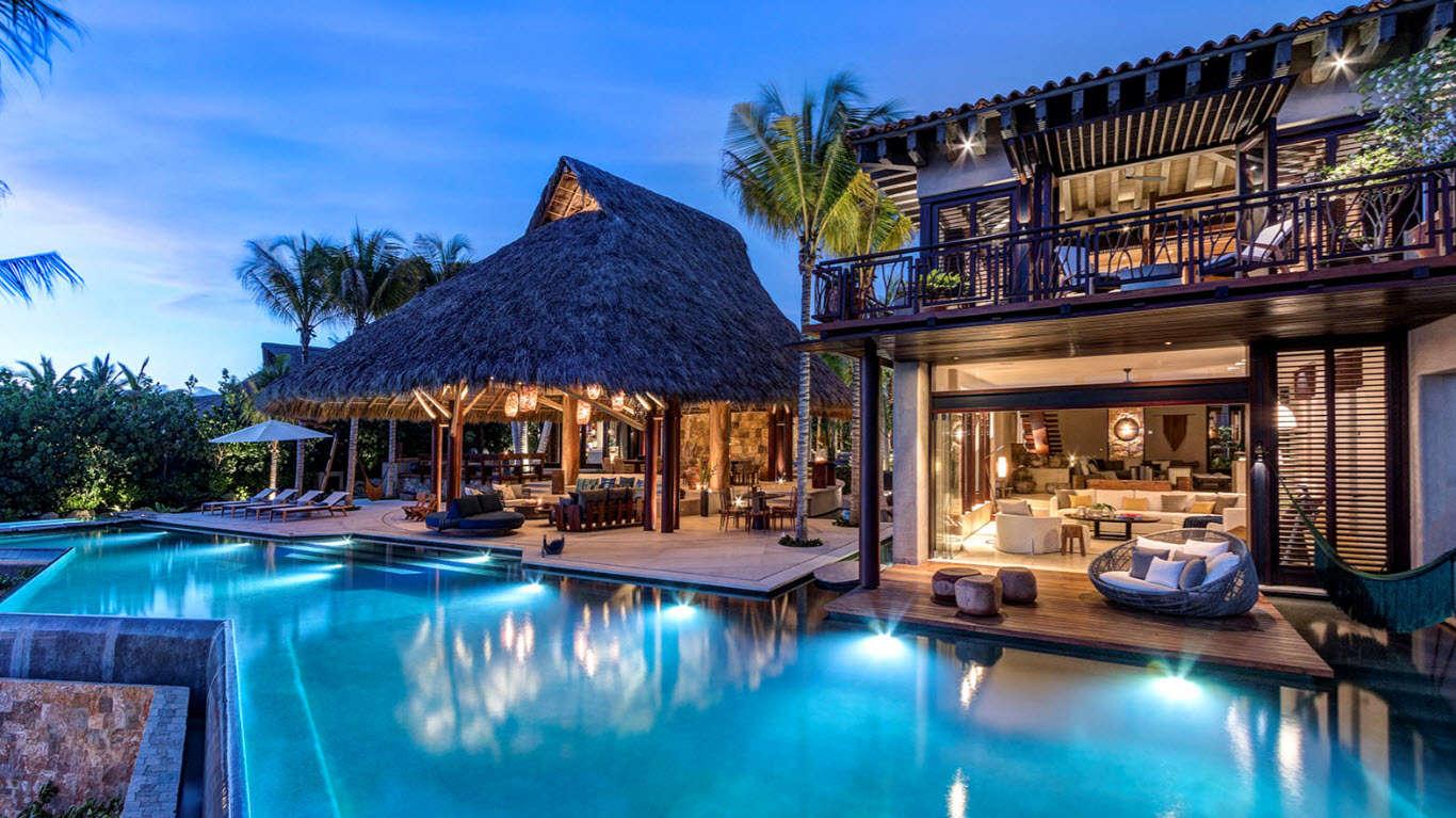 Luxury vacation rentals mexico - Punta mita - La punta estates - Estate Celeste - Image 1/17