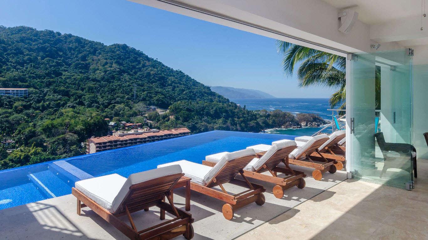 Luxury vacation rentals mexico - Puerto vallarta - Mismaloya beach - No location 4 - Casa Mismaloya - Image 1/24