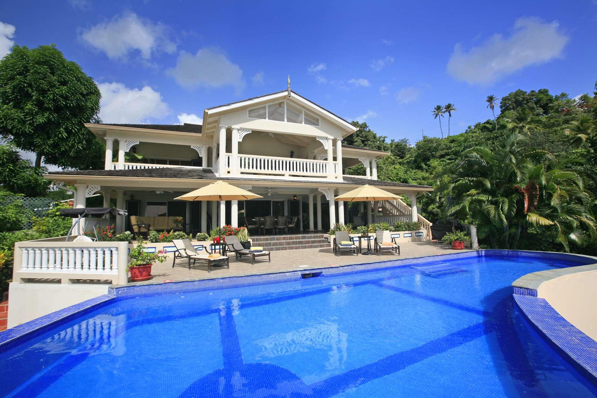 Luxury villa rentals caribbean - St lucia - Marigot bay - Ashiana Villa - Image 1/13