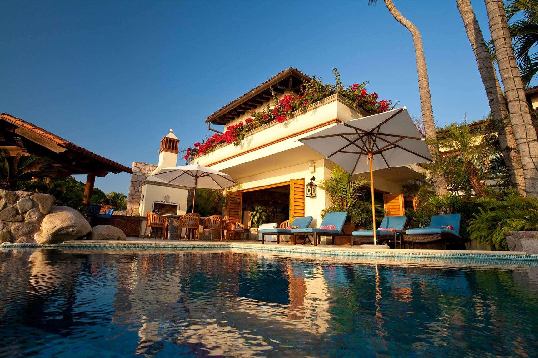 Luxury vacation rentals mexico - Puerto vallarta - Conchas chinas - Villa Amapas I North - Image 1/16