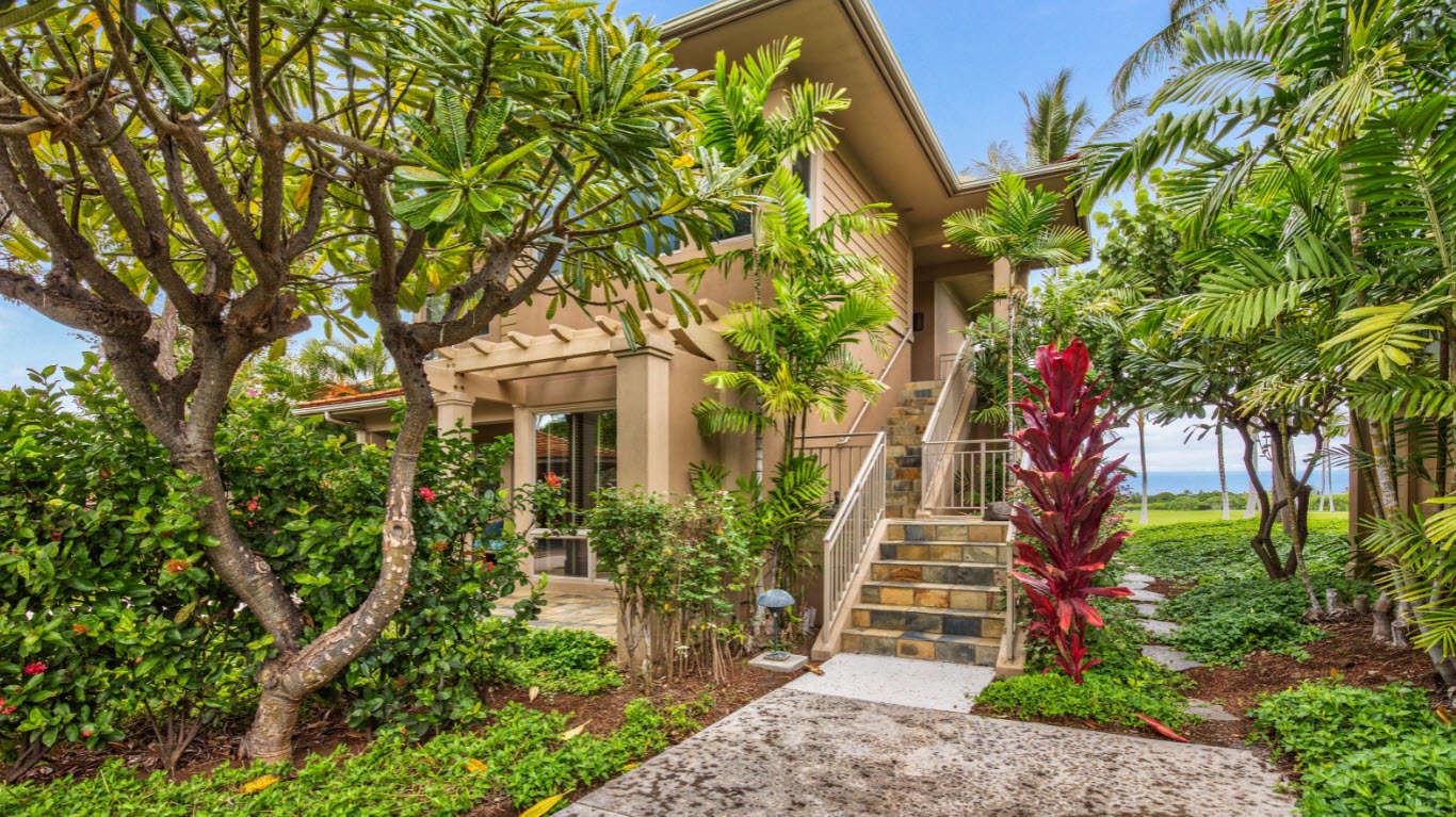 Luxury vacation rentals usa - Hawaii - Big island - Hualalai resort - Hualalai Fairway Villa 110D - Image 1/11
