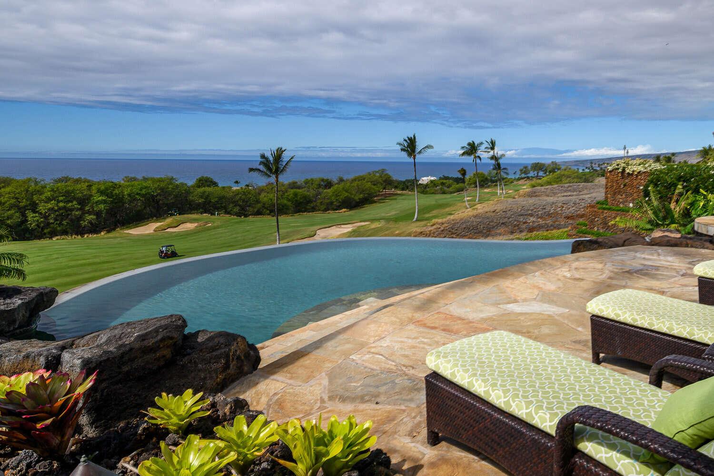Luxury vacation rentals usa - Hawaii - Big island - Mauna kearesort - High Bluffs - Image 1/22