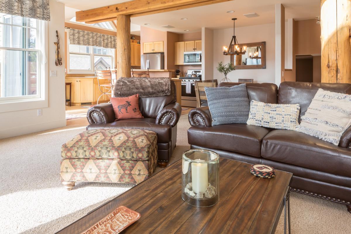Luxury vacation rentals usa - Montana - Big sky resort - Saddle Ridge J1 - Image 1/35