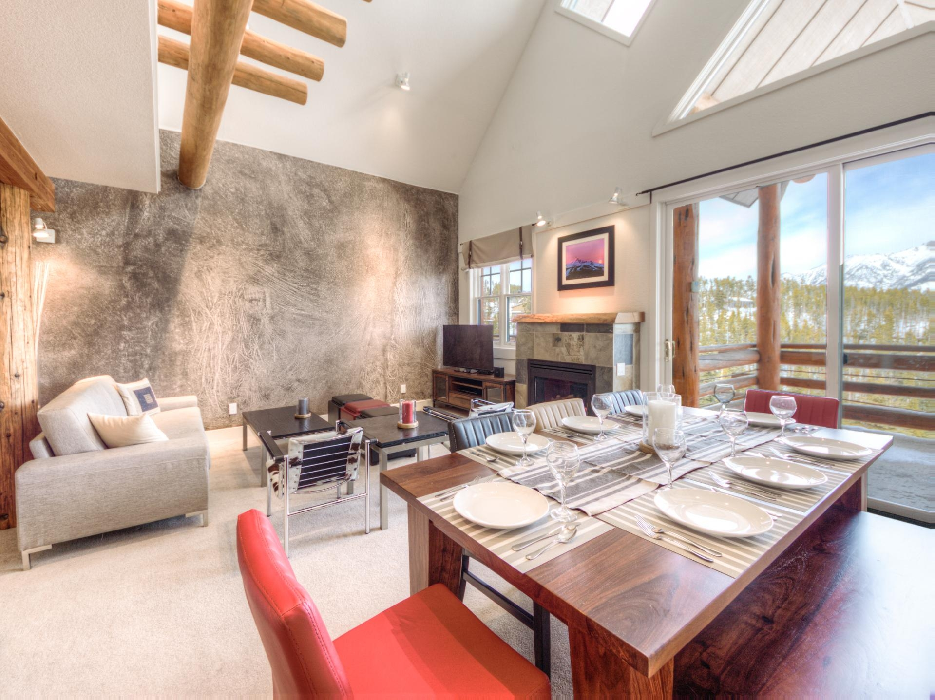 Luxury vacation rentals usa - Montana - Big sky resort - Saddle Ridge Townhome | Unit D3 - Image 1/33