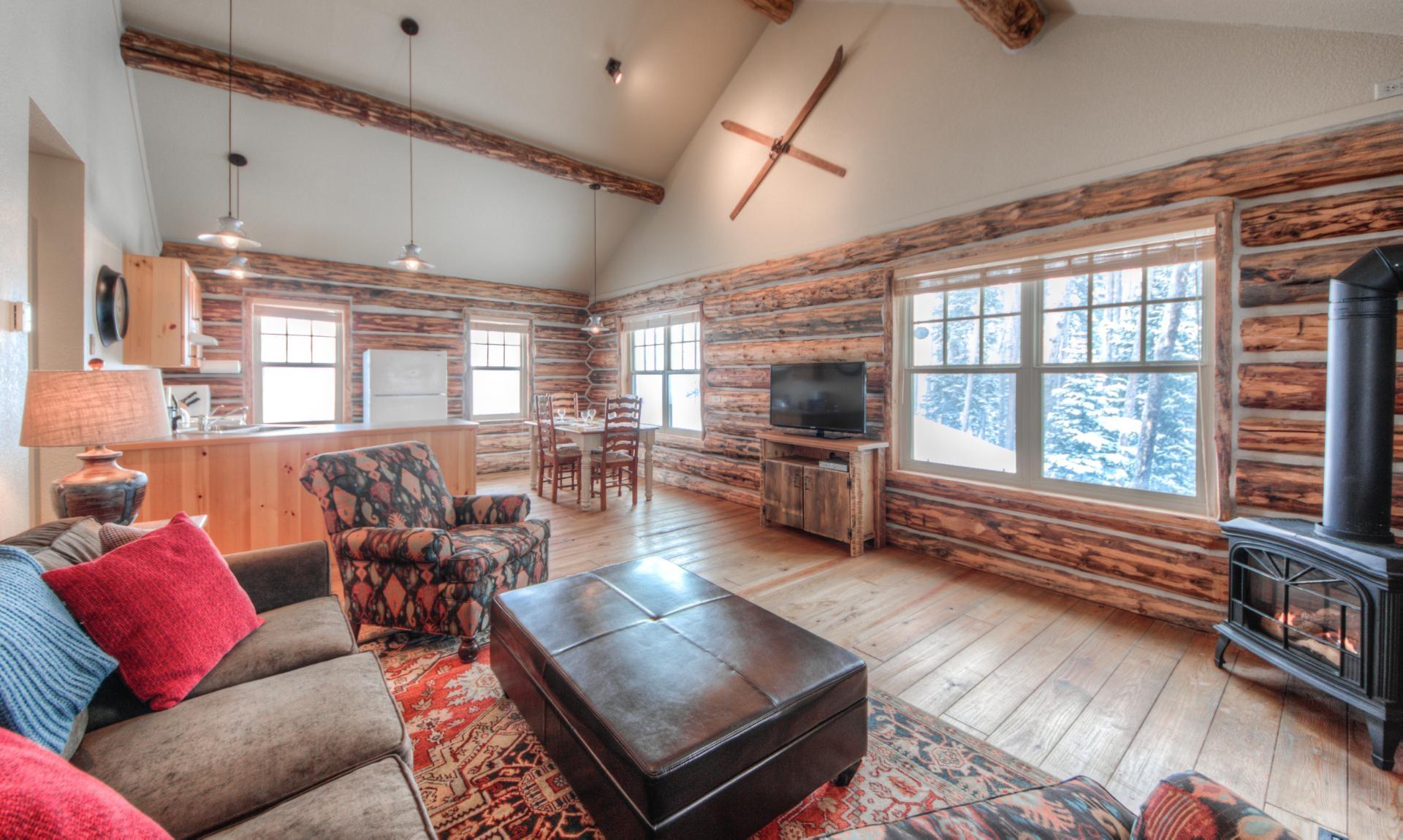 Luxury vacation rentals usa - Montana - Big sky moonlight basin - No location 4 - Cowboy Heaven Cabins | 3 Rustic Ridge - Image 1/36