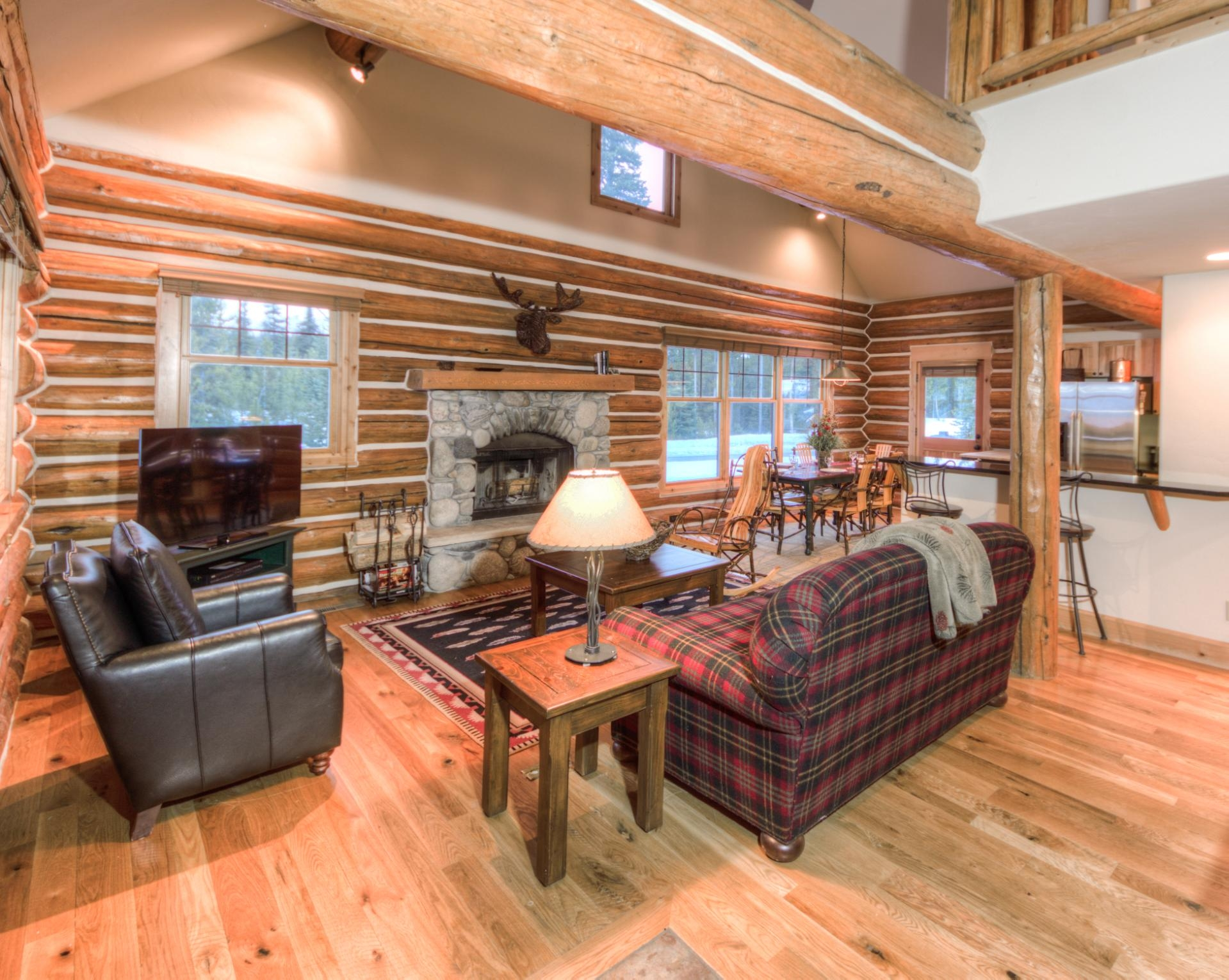 Luxury vacation rentals usa - Montana - Big sky resort - Powder Ridge Cabin | 1 Little Shadow Catcher - Image 1/37