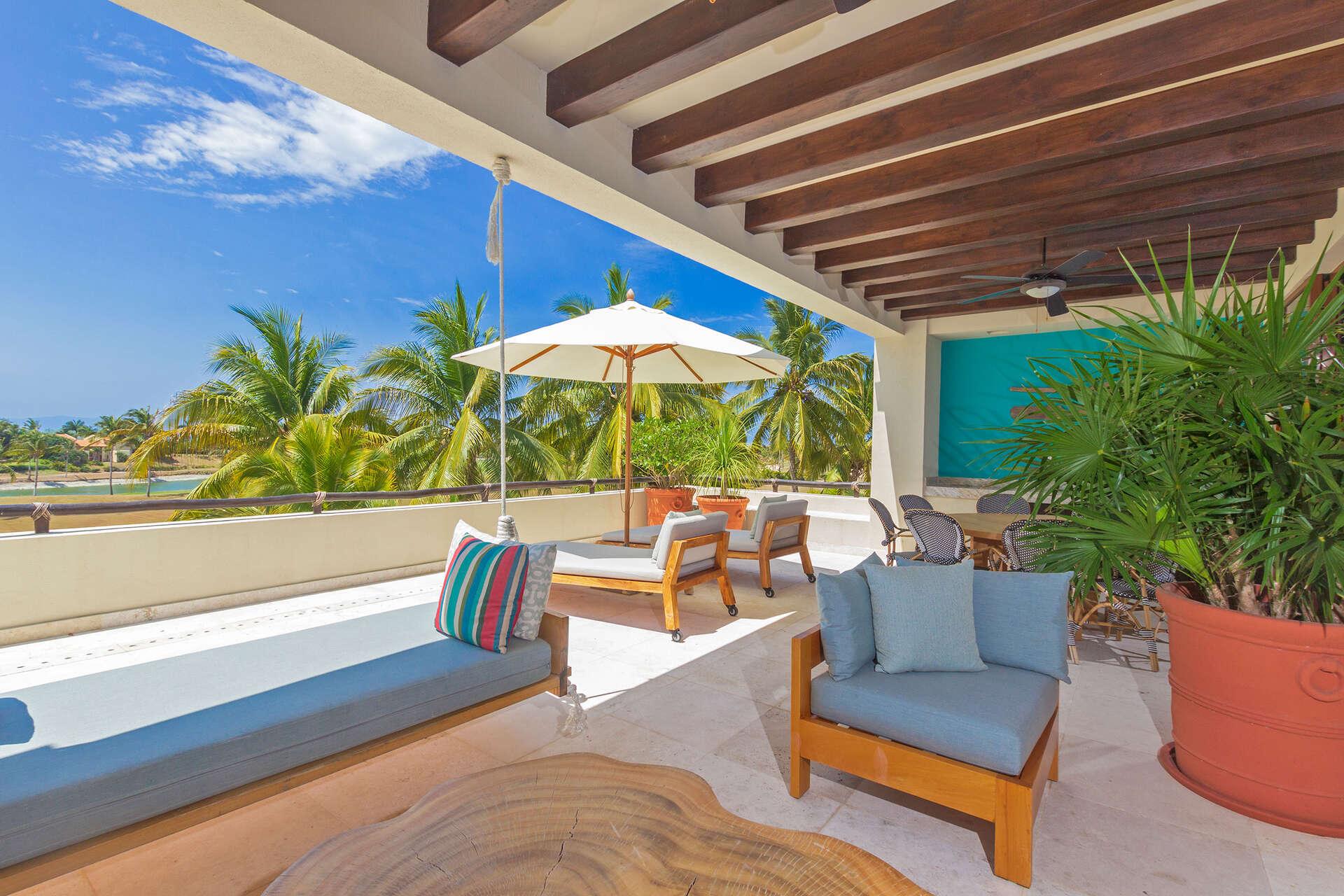 Luxury vacation rentals mexico - Punta mita - Las terrazas - Condo Palma Azul - Image 1/13