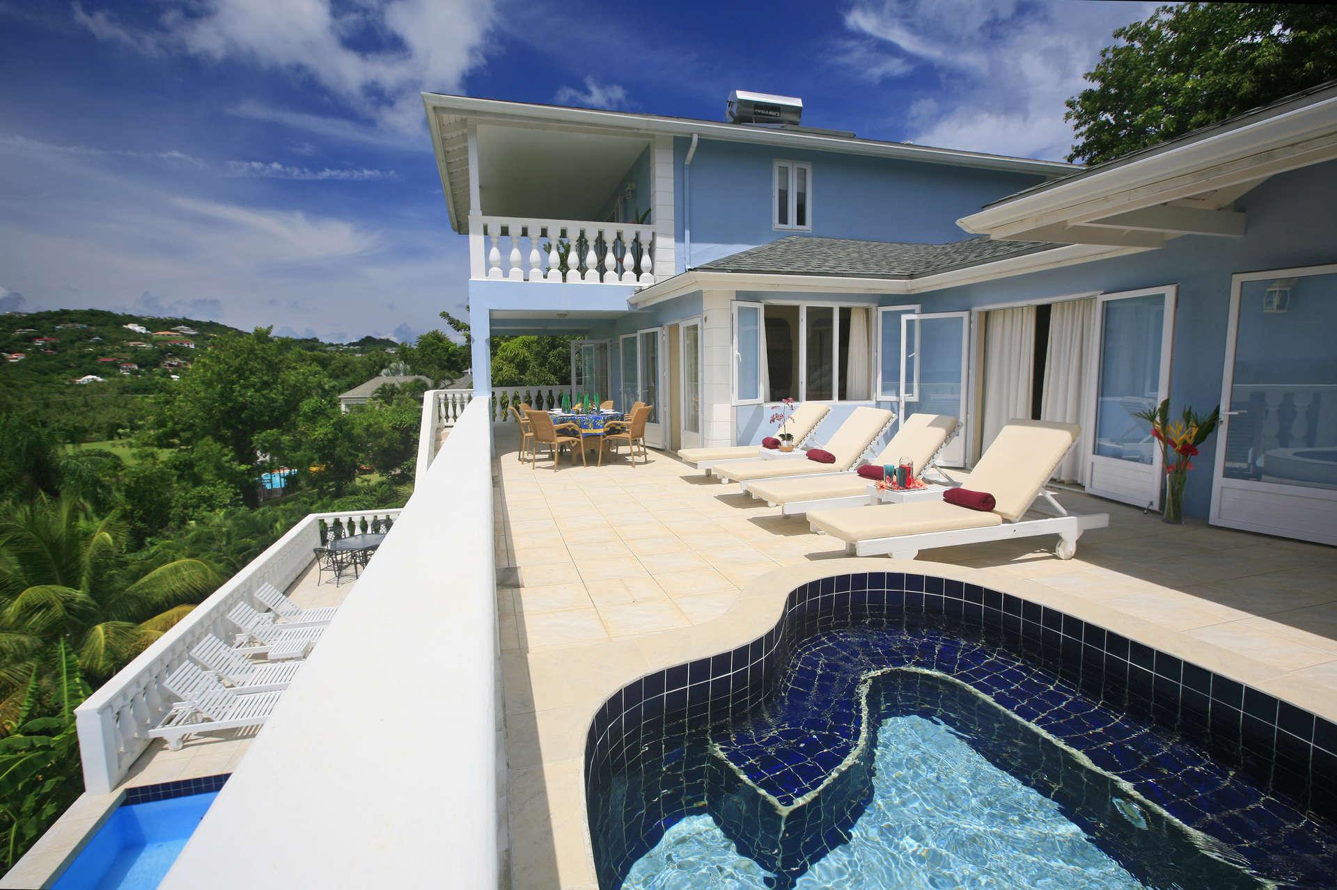 Luxury villa rentals caribbean - St lucia - Cap estate sl - Blue Moon Villa - Image 1/13